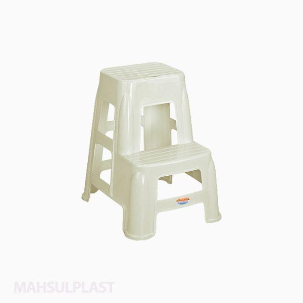 چهارپایه دوپله بلندمدل ۱۶۱۷ناصر پلاستیک