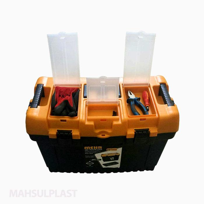 جعبه ابزار قفل پلاستیکی JPT22