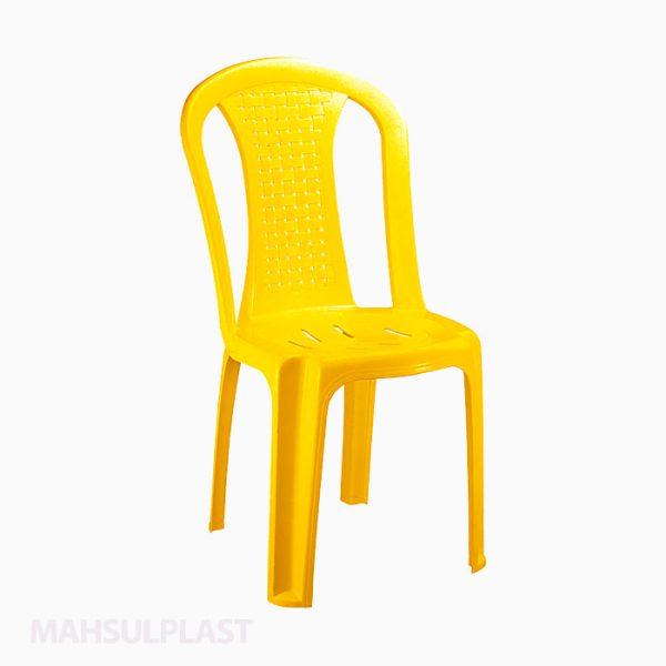 صندلی بدون دسته حصیری مدل 842 ناصر پلاستیک