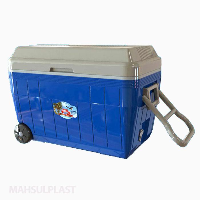یخدان ۶۰ لیتری چرخدار سراب