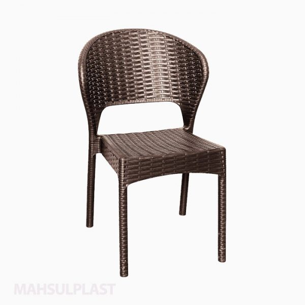 صندلی بدون دسته حصیری دیتونا کد ۹۷۲ ناصر پلاستیک