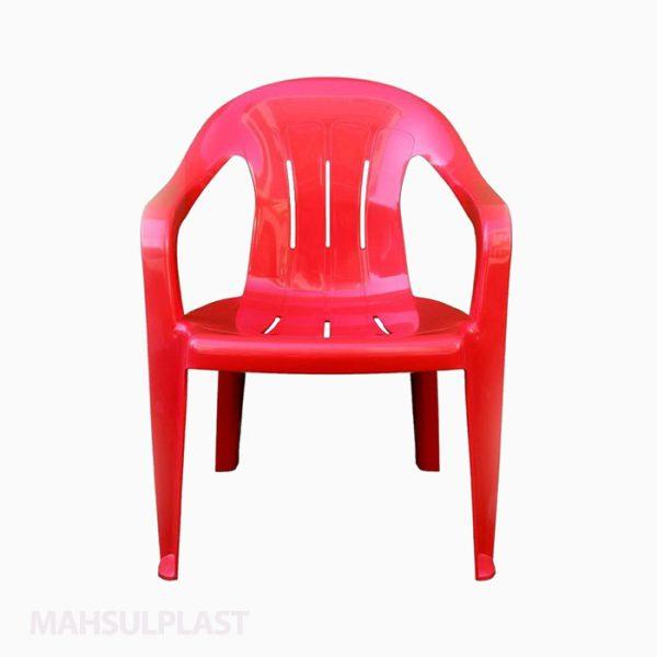 صندلی پلاستیکی دستهدار صبا کد 112