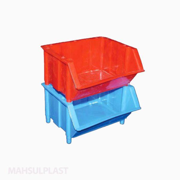جعبه ابزار پایهدار پلاستیکی