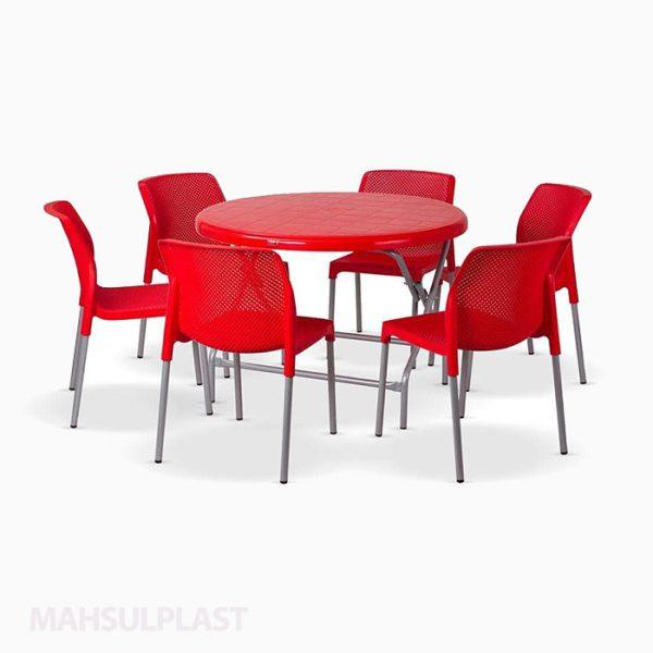 ست میز و صندلی ۶ نفره صبا کد ۵۰۲7