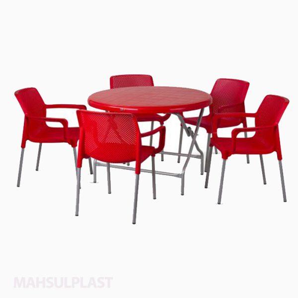 ست میز و صندلی ۶ نفره صبا کد ۵۰۲۶
