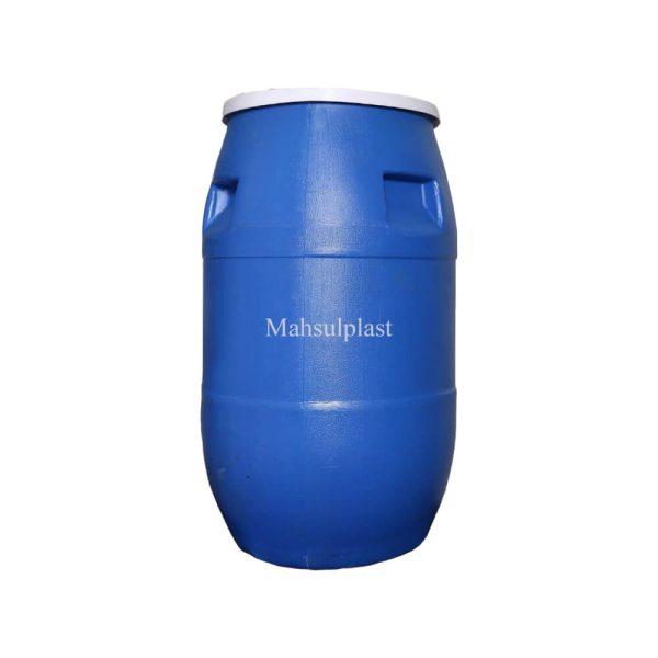 بشکه 100 لیتری آبی - محصول پلاست