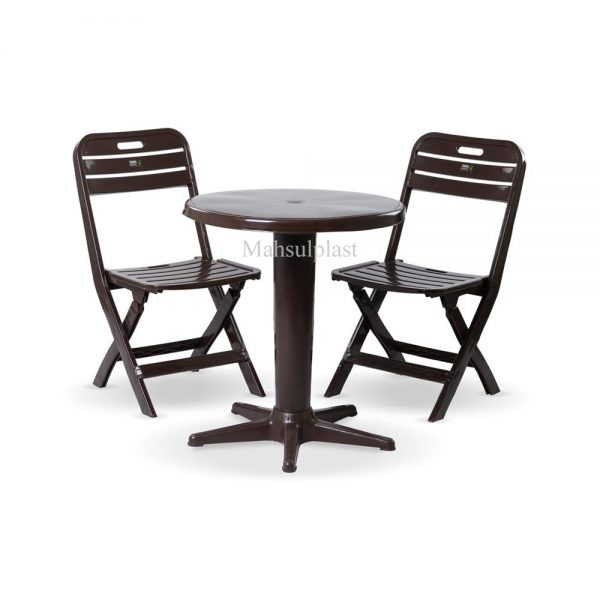 ست میز و صندلی - محصول پلاست