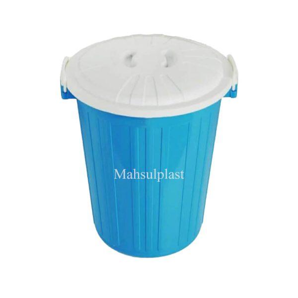 سطل درب دار - محصول پلاست