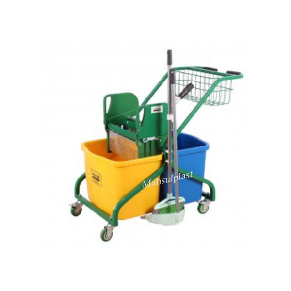 ترالی نظافتی - محصول پلاست
