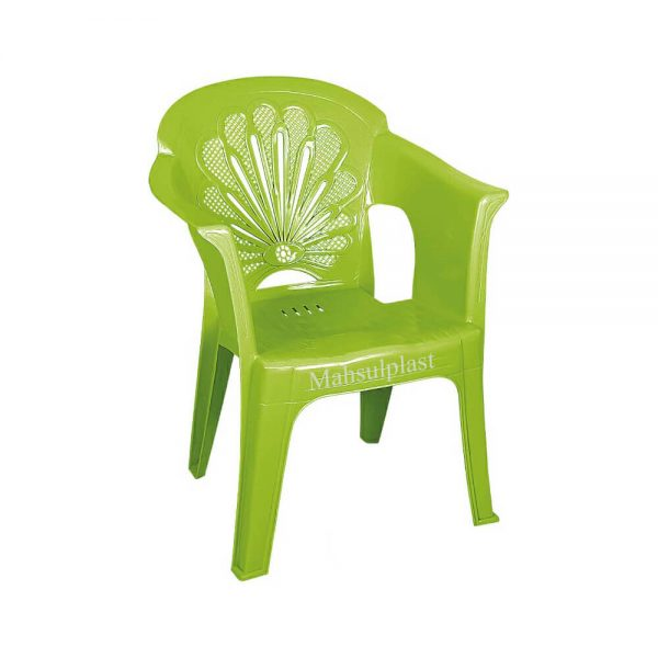 صندلی دسته دار ناصر - محصول پلاست