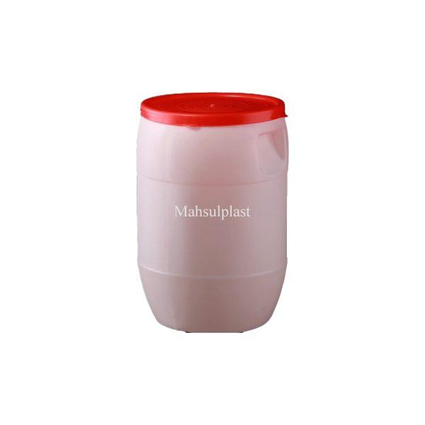 بشکه 40 لیتری درب ساده - محصول پلاست