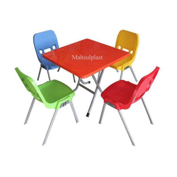 ست میز و صندلی باغی - محصول پلاست