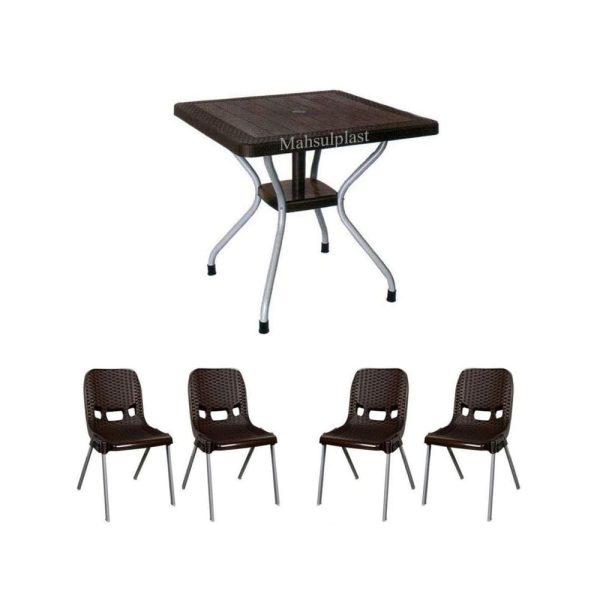 میز و صندلی ناصر - محصول پلاست