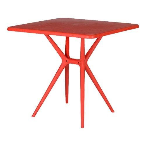 میز مربع پایه ثابت